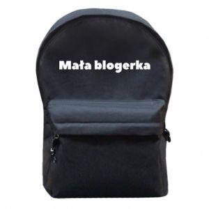 Plecak z przednią kieszenią Mała blogerka