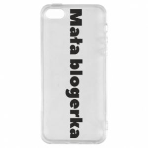 Phone case for iPhone 5/5S/SE Little blogger