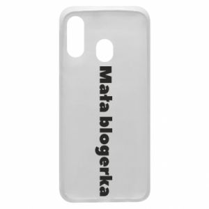 Phone case for Samsung A40 Little blogger