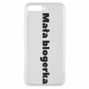 Phone case for Huawei Y6 2018 Little blogger
