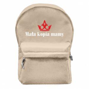 Backpack with front pocket Little copy of mom - PrintSalon
