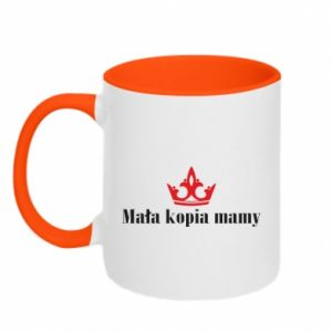 Two-toned mug Little copy of mom
