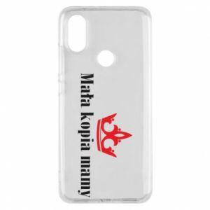 Phone case for Xiaomi Mi A2 Little copy of mom - PrintSalon