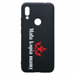 Phone case for Xiaomi Redmi 7 Little copy of mom - PrintSalon