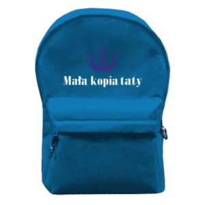 Backpack with front pocket Little copy of dad - PrintSalon