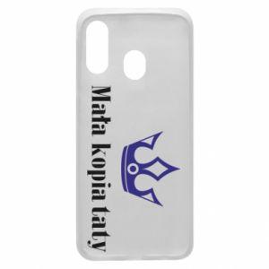Phone case for Samsung A40 Little copy of dad - PrintSalon