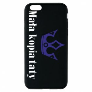 Phone case for iPhone 6/6S Little copy of dad - PrintSalon