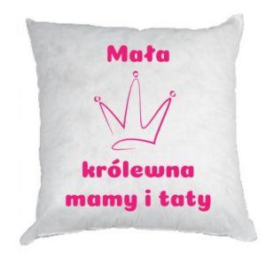 Poduszka Mała korólewna mamy i taty