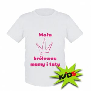 Kids T-shirt Little princess mothers and fathers