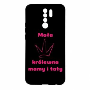 Xiaomi Redmi 9 Case Little princess mothers and fathers
