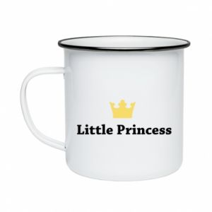 Kubek emaliowane Little princess