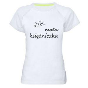 Women's sports t-shirt Little princess