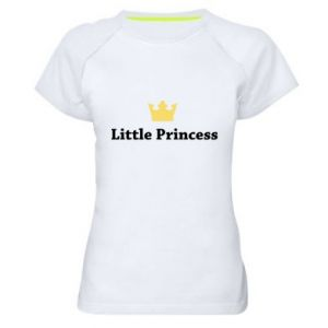 Women's sports t-shirt Little princess