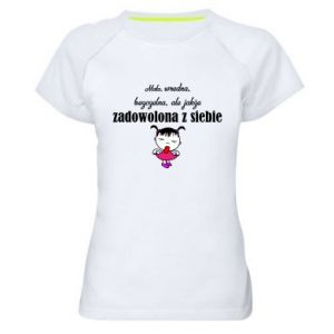 Koszulka sportowa damska Mała wredna