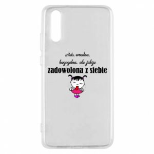 Phone case for Huawei P20 Small mean