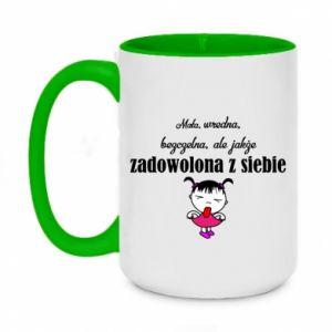Two-toned mug 450ml Small mean