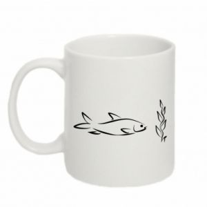 Mug 330ml Little fish