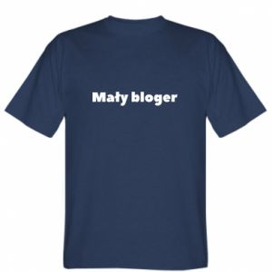T-shirt Little blogger boy - PrintSalon