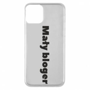 Phone case for iPhone 11 Little blogger boy - PrintSalon