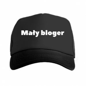 Trucker hat Little blogger boy - PrintSalon