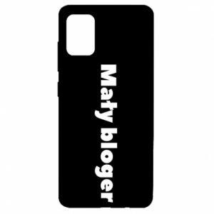 Etui na Samsung A51 Mały bloger