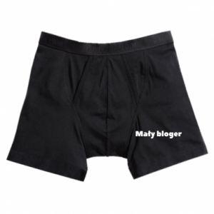 Boxer trunks Little blogger boy