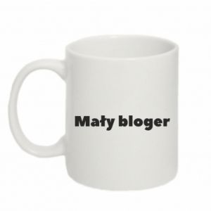 Mug 330ml Little blogger boy - PrintSalon