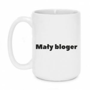Mug 450ml Little blogger boy - PrintSalon