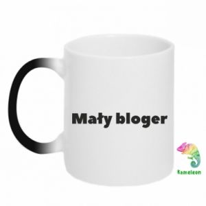 Chameleon mugs Little blogger boy - PrintSalon