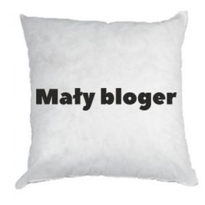 Pillow Little blogger boy - PrintSalon