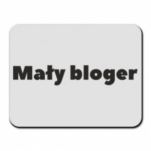 Mouse pad Little blogger boy - PrintSalon