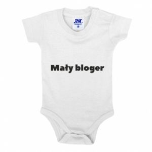 Baby bodysuit Little blogger boy - PrintSalon