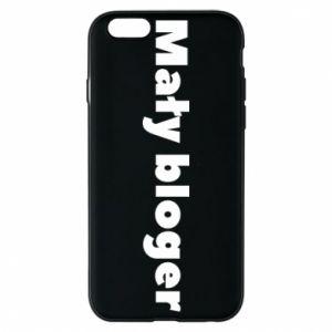 Phone case for iPhone 6/6S Little blogger boy - PrintSalon