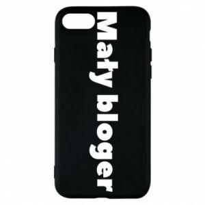 Phone case for iPhone 8 Little blogger boy - PrintSalon