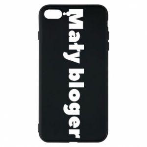 Phone case for iPhone 8 Plus Little blogger boy - PrintSalon