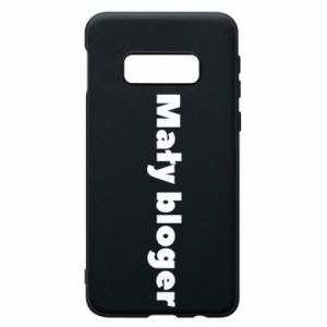 Phone case for Samsung S10e Little blogger boy - PrintSalon