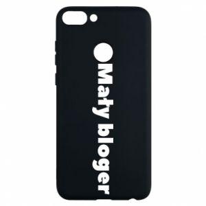 Phone case for Huawei P Smart Little blogger boy - PrintSalon