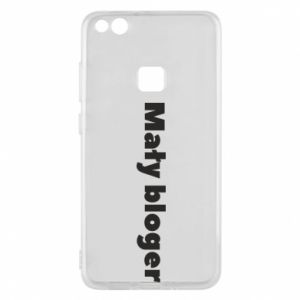Phone case for Huawei P10 Lite Little blogger boy - PrintSalon