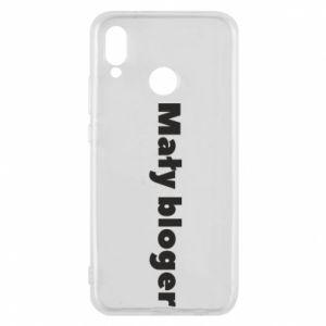 Phone case for Huawei P20 Lite Little blogger boy - PrintSalon