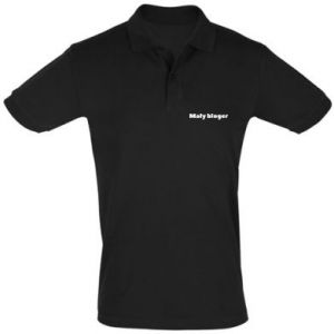 Men's Polo shirt Little blogger boy - PrintSalon