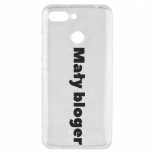 Phone case for Xiaomi Redmi 6 Little blogger boy - PrintSalon