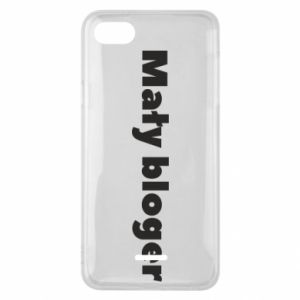 Phone case for Xiaomi Redmi 6A Little blogger boy - PrintSalon