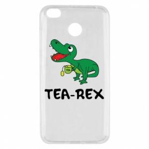 Etui na Xiaomi Redmi 4X Mały dinozaur z herbatą