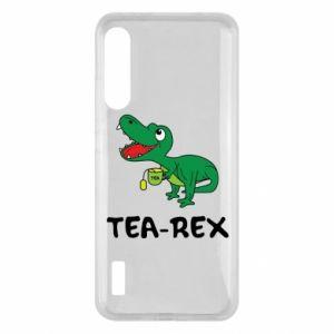 Etui na Xiaomi Mi A3 Mały dinozaur z herbatą