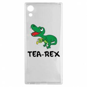 Etui na Sony Xperia XA1 Mały dinozaur z herbatą