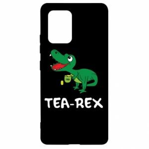Etui na Samsung S10 Lite Mały dinozaur z herbatą