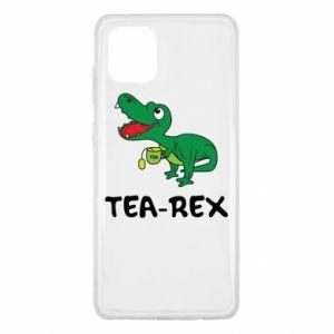Etui na Samsung Note 10 Lite Mały dinozaur z herbatą