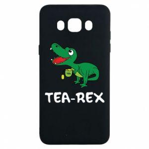 Etui na Samsung J7 2016 Mały dinozaur z herbatą