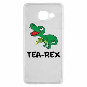 Etui na Samsung A3 2016 Mały dinozaur z herbatą