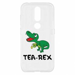 Etui na Nokia 4.2 Mały dinozaur z herbatą